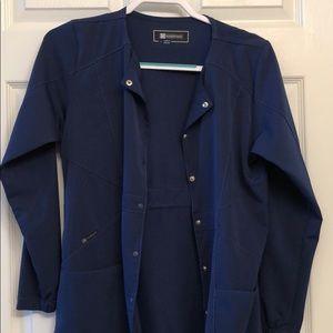 WonderWink scrub jacket
